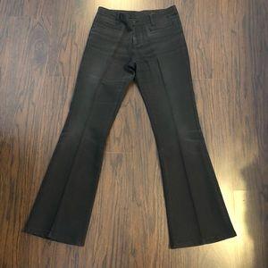Banana republic jeans flare black denim size 32